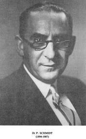 Dr Pierre Scmidt